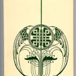 """Books Privately Printed (1892-1923) - """"Fragments"""" by Cave (volume 1), design by Birger Elwing. Cover page."""
