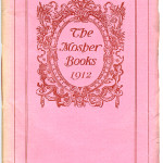 "Catalogues (1893/94-1923) - 1912: ""The Mosher Books"". Cover."