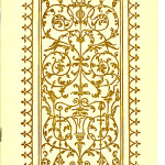 "Catalogues (1893/94-1923) - ""The Mosher Books"" with Renaissance styled design. Cover."