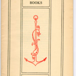 "Catalogues (1893/94-1923) - 1919: ""The Mosher Books"" with Frederick Goudy border design. Cover."