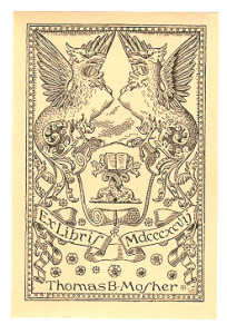 Mosher Bookplate