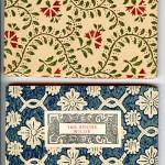 "Venetian Series (1910-1913) - A. Mary Robinson's ""Songs from an Italian Garden"" and Oscar Wilde's ""The Sphinx."" Covers."