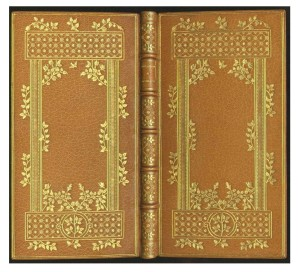 Full leather binding by René Chambolle.