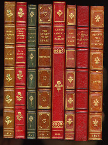 Grouping of bindings by commercial binderies (Example 2)