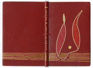 """Modern binding on """" The Story of Amis & Amile"""" (1899) by Swiss contemporary artist Hugo Peller."""