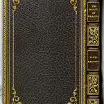 Full leather binding by Stikeman & Co. of NY