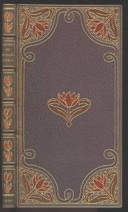 Full leather binding by Lucien Broca.