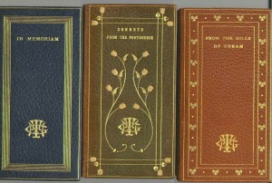 Full leather binding by the Launder Bindery.